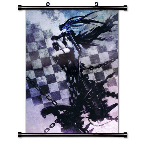 Toon Junkie Black Rock Shooter Anime Fabric Wall Scroll Poster (16x23) Inches [TJ] Black Rock Shooter-104