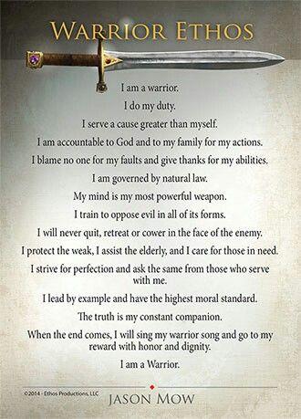 the warrior ethos by jason mow mormon quotes  the warrior ethos by jason mow