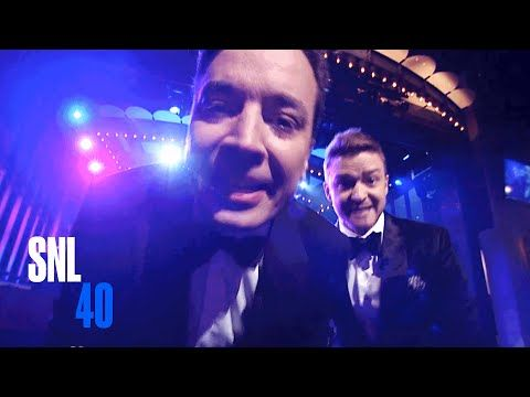 Jimmy Fallon and Justin Timberlake Cold Open - SNL 40th Anniversary Special - YouTube