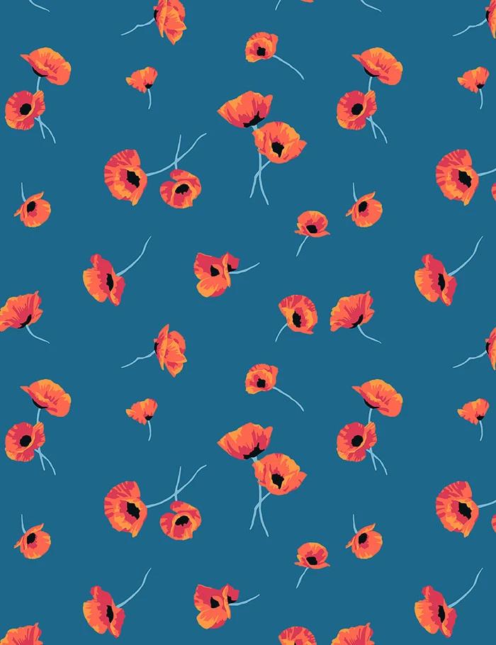 'Poppy' Wallpaper by Nathan Turner - Cadet