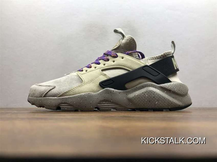 406db9dc2d84 Nike Air Huarache Pig Leather Material Running Shoes 829669-334 New Release