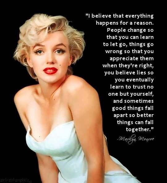 Marilyn Monroe Quote Miss Monroe Pinterest Marilyn Monroe Quotes