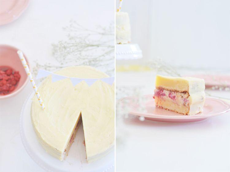Saftige Weisse Schokoladentorte Mit Himbeeren Backen Rezepte