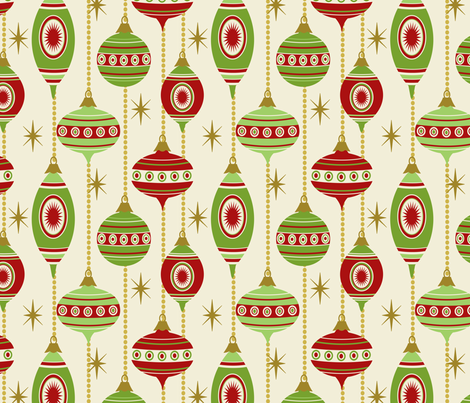 STARS AND STRIPES ~ Traditional fabric by retrorudolphs on Spoonflower - custom fabric