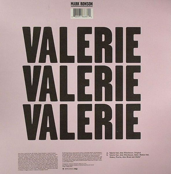 Garage Gothic | Typefaces & Families | Mark ronson valerie
