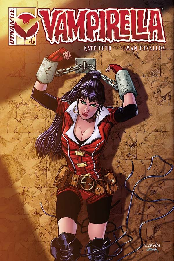 Comic Crypt: 'Vampirella #6' Preview