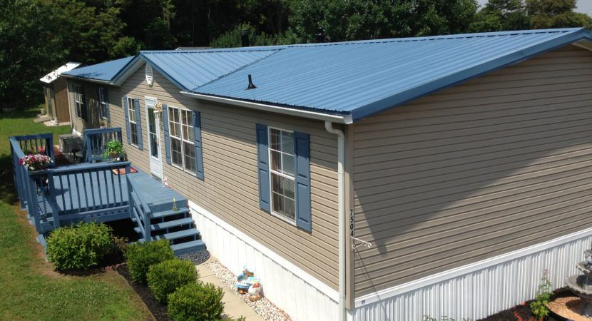 Mobile Home Metal Roof Decorating Ideas (With images