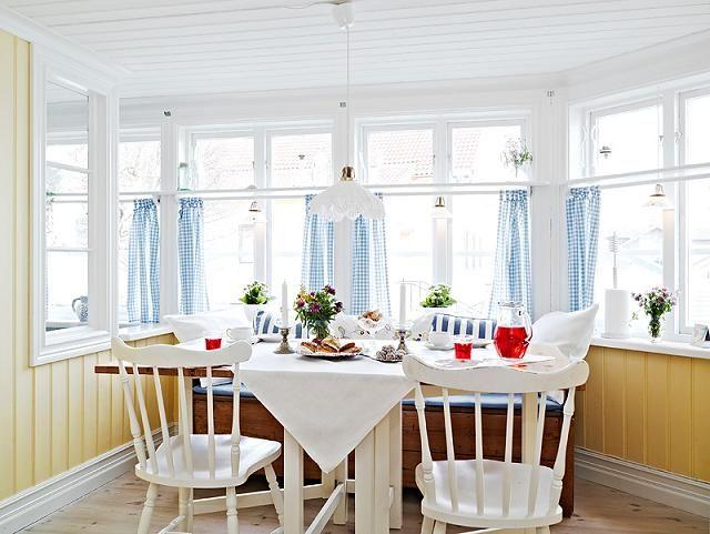 Fehér és Cozy Country Home Svédország | Interior Design Files ...