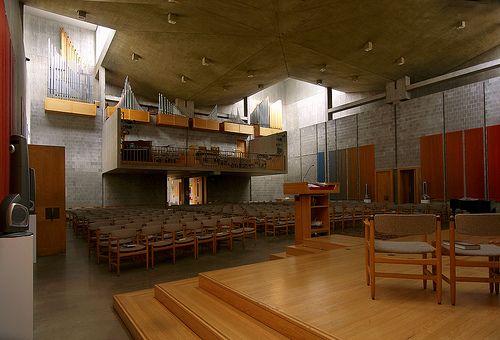 First Unitarian Church Of Rochester. Rochester New York. 1962, Louis Kahn