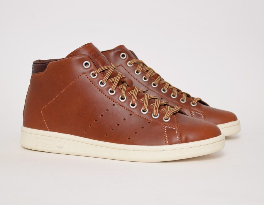 adidas Stan Smith Mid McNairy Marron Baskets SneakAttack in 2018