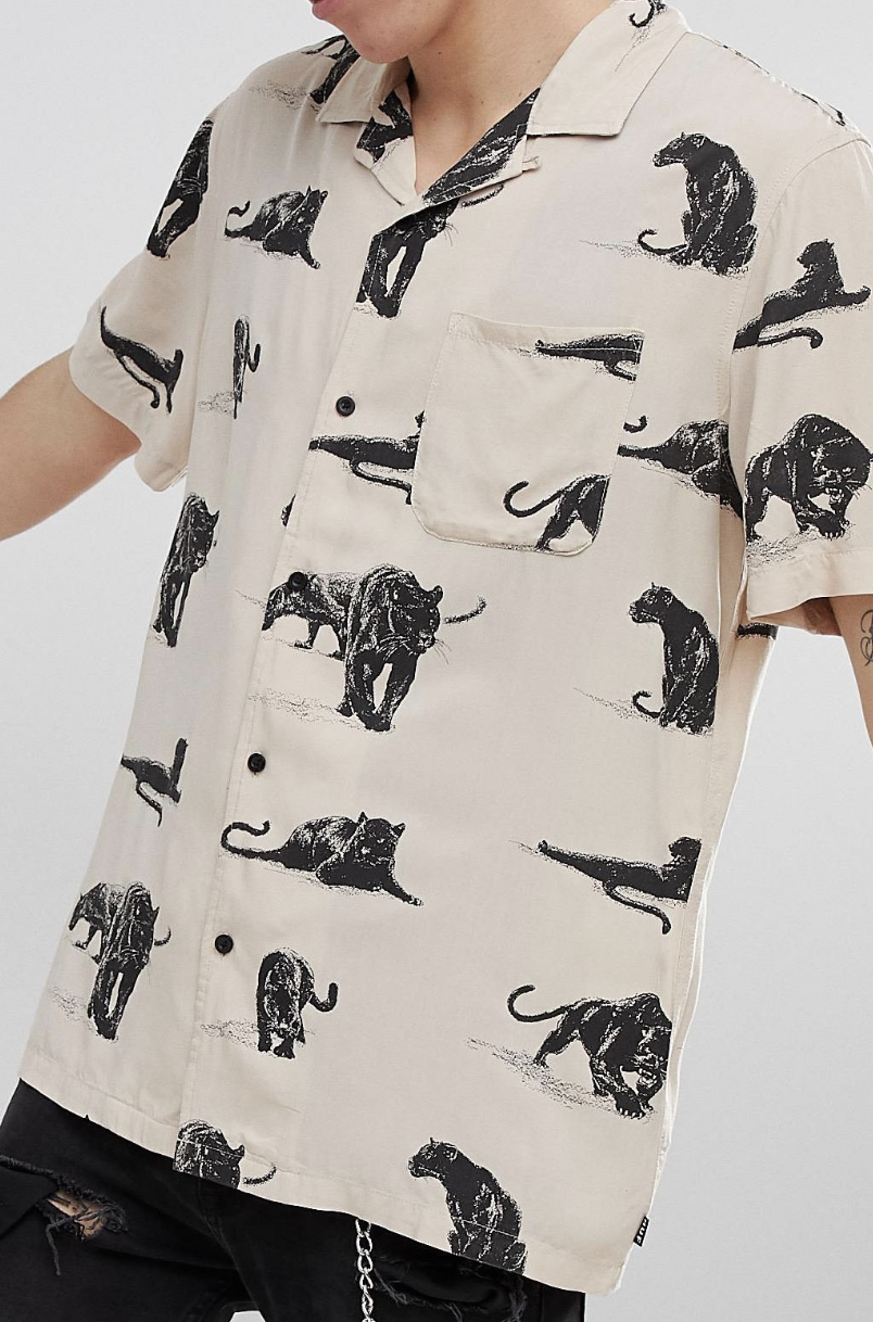 1ccacf4650b9 On my wish list   HUF Exotica Shirt With All Over Print from ASOS  ad  men   fashion  shopping  outfit  inspiration  style  streetstyle  fall  winter   spring ...