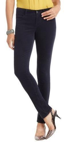 New Ann Taylor Loft Corduroy Straight Leg Pants Size 00P $59 50 Black | eBay