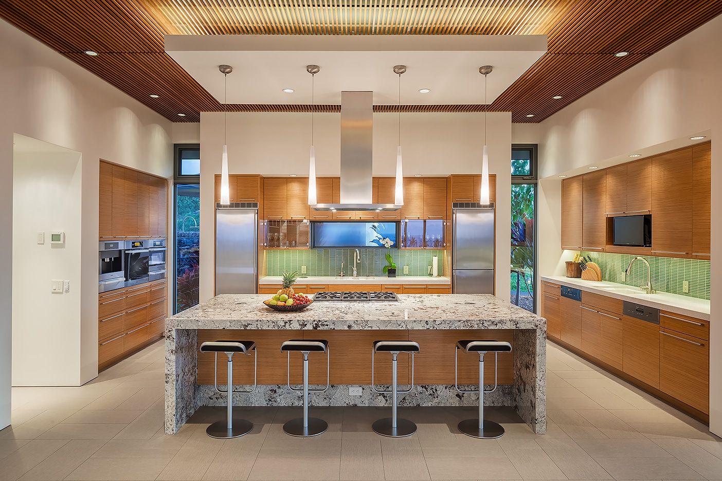 Luxury Kitchen Hawaii  Kitchen Spaces  Pinterest  Luxury Kitchens Glamorous Kitchen Design Hawaii Decorating Inspiration