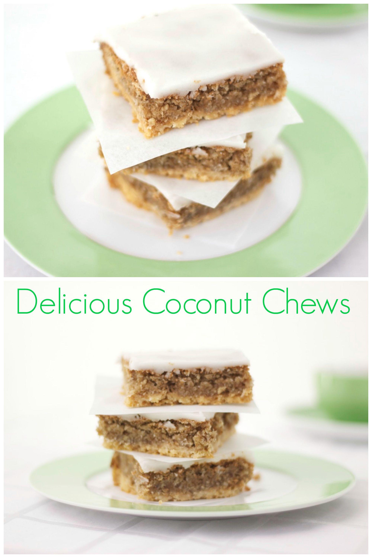 Rezept Coconut Chews Kokos Zitronen Schnitten Cynthia Barcomi