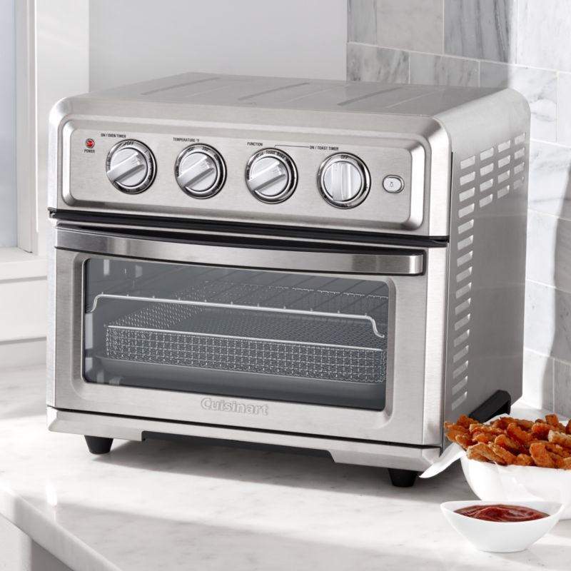 Cuisinart Airfryer Toaster Oven Reviews Crate And Barrel With Images Oven Reviews Toaster Oven Reviews Toaster Oven