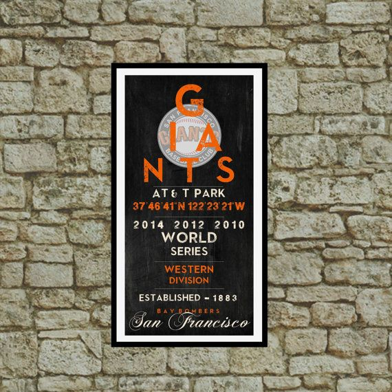 San Francisco Giants 2014 World Series Champs by TWDesignsWarsaw