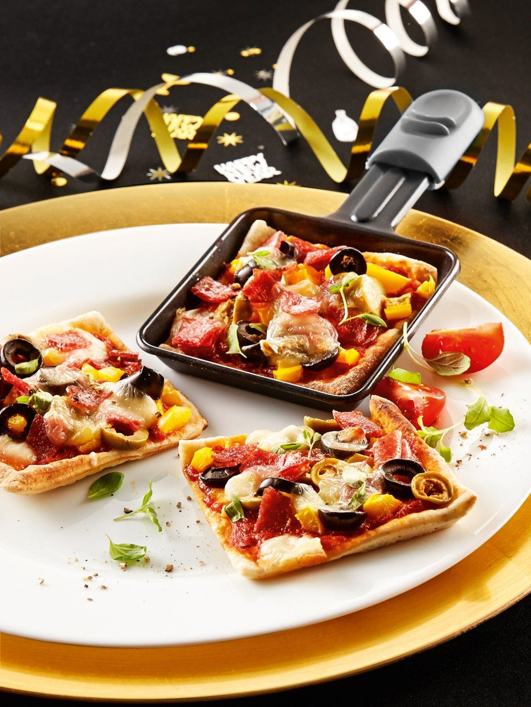 Raclette Rezept Pizza: So funktioniert die Raclette-Pizza! #racletteideen