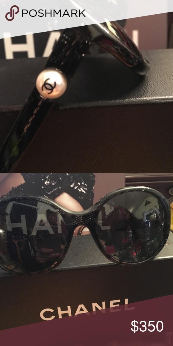 63bd669fd70 Chanel Venetian Lace Pearl Logo Sunglasses Chanel Venetian Lace Pearl Logo Sunglasses  Chanel Accessories Sunglasses