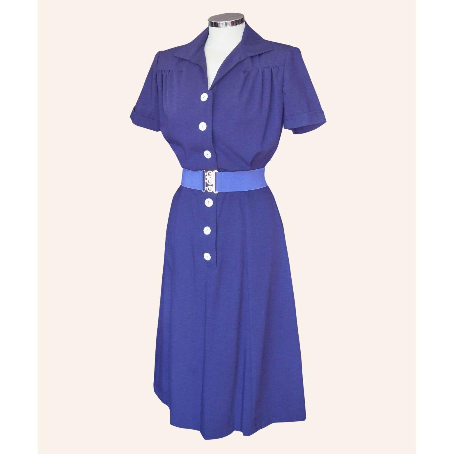 1940s dress | Vintaje año 1940 | Pinterest | Años
