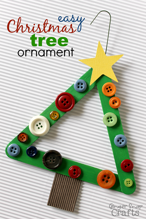 Easy Christmas Tree Ornament & a DecoArt Giveaway