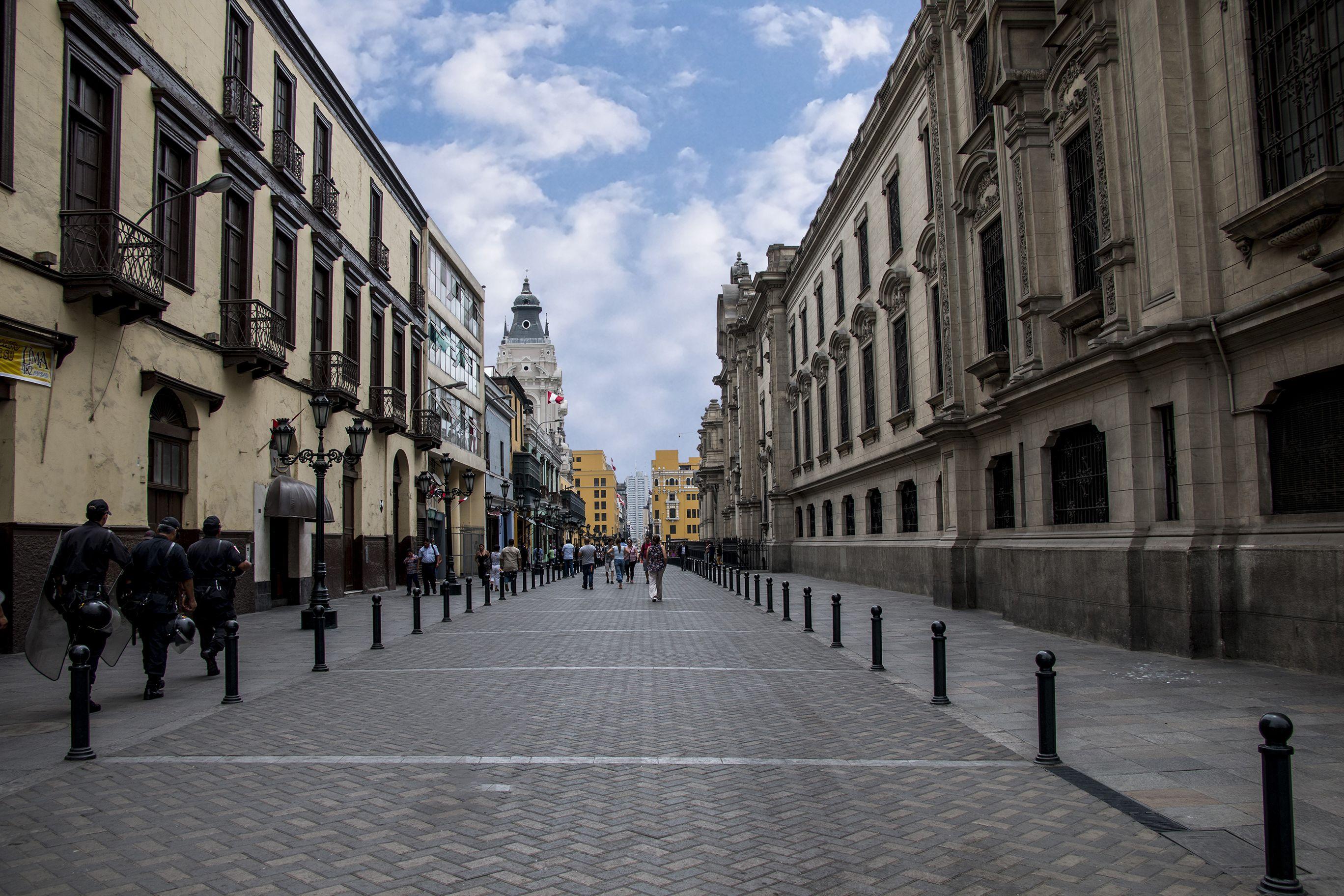 calles de centro de lima perú conoce perú
