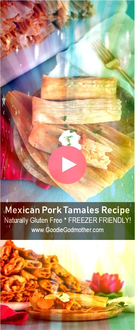 Pork Tamales are a traditional Christmas food  although they are enjoyed year round Gather friends host a tamalada tamale rolling party   Mexican Pork Tamales are a tradi...