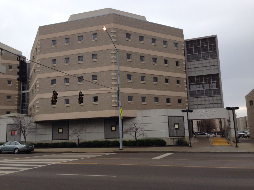 The Montgomery County Jail in Dayton, Ohio  | Skyline and