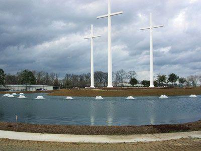 Bethany World Prayer Center Baton Rouge La Pond Lake