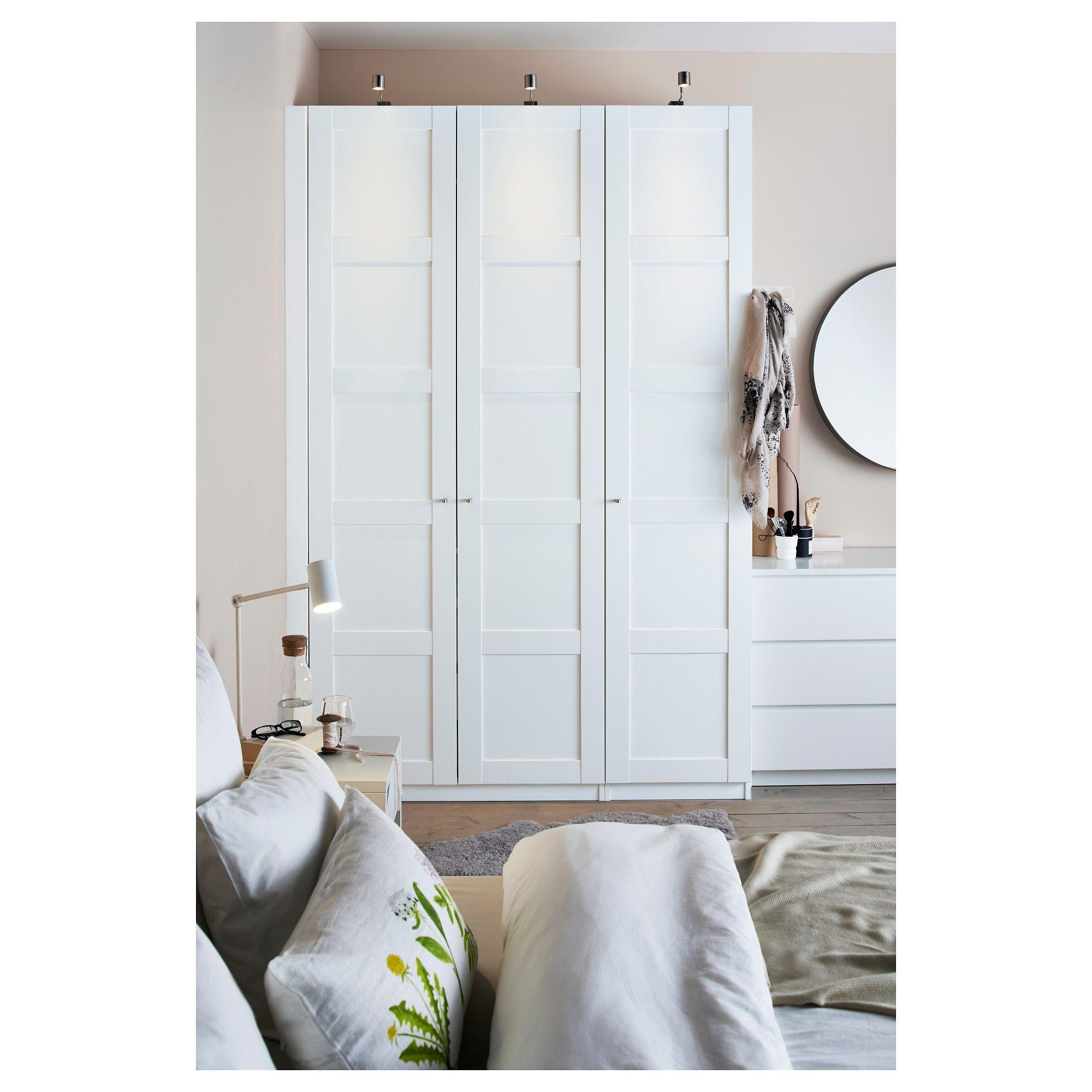IKEA PAX Wardrobe white, Bergsbo white Ikea pax