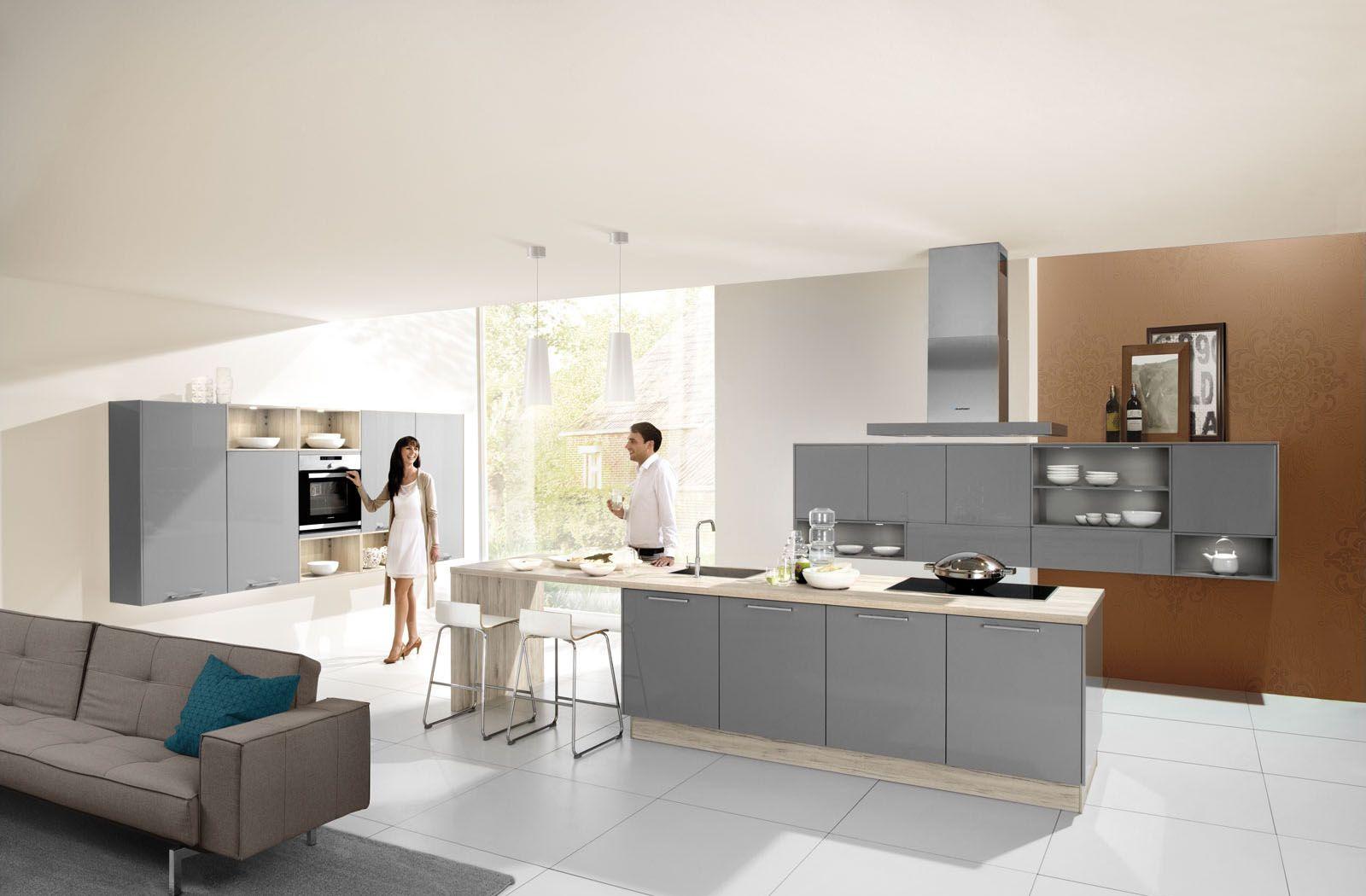 Moderne Keuken Grijs : Tijdloze moderne keuken grijze keuken meer keukeninspiratie