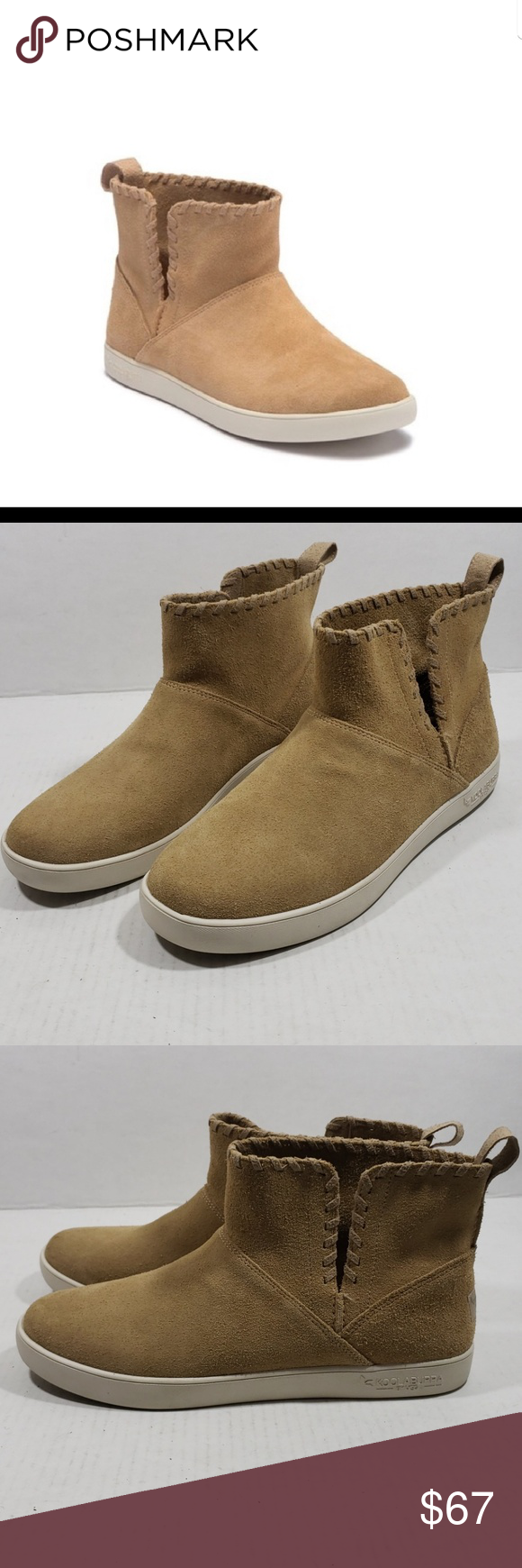 7543a9cb1e3 Ugg Suede Koolaburra Rylee Slip On Boots sz 11 New without box NWOB ...
