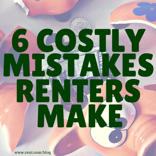 Cost To Rent An Apartment: 6 Costly Mistakes Renters Make
