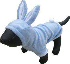 Blue Bunny Dog Costume Medium Buydogsweaters Com Pet