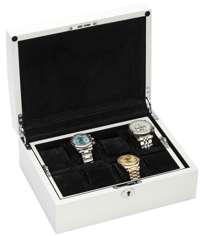 Eight Watch Storage Box Mens Jewelry Case 34-722 Diplomat Prestige 8 White Wood  sc 1 st  Pinterest & Eight Watch Storage Box Mens Jewelry Case 34-722 Diplomat Prestige 8 ...