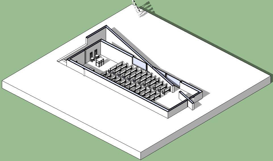 Church Of Light Floor Plan Part - 22: Church Of The Light - Tadao Ando