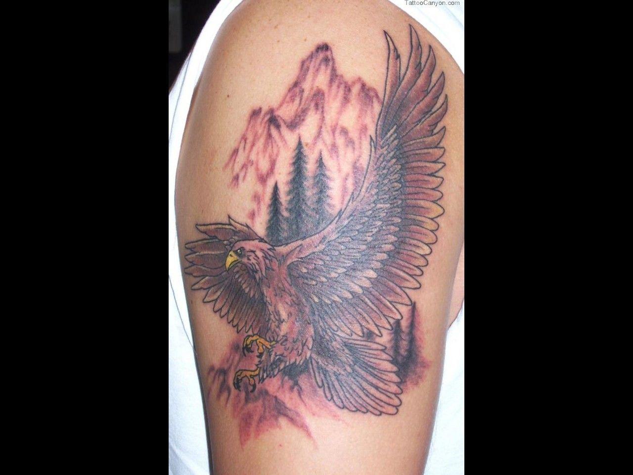 Iron eagle tattoo 25 brilliant cross tattoos for men - Tattoo