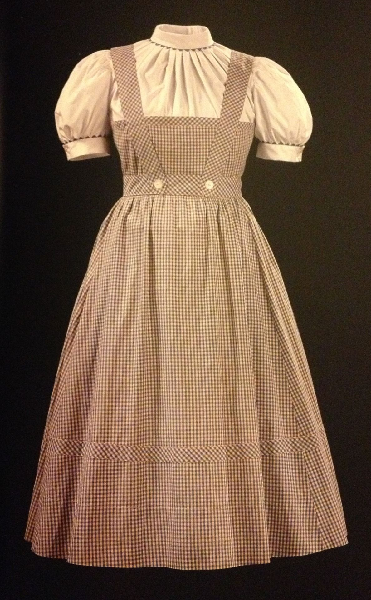 Dorothy -the Original worn by Judy Garland in the Wizard ...