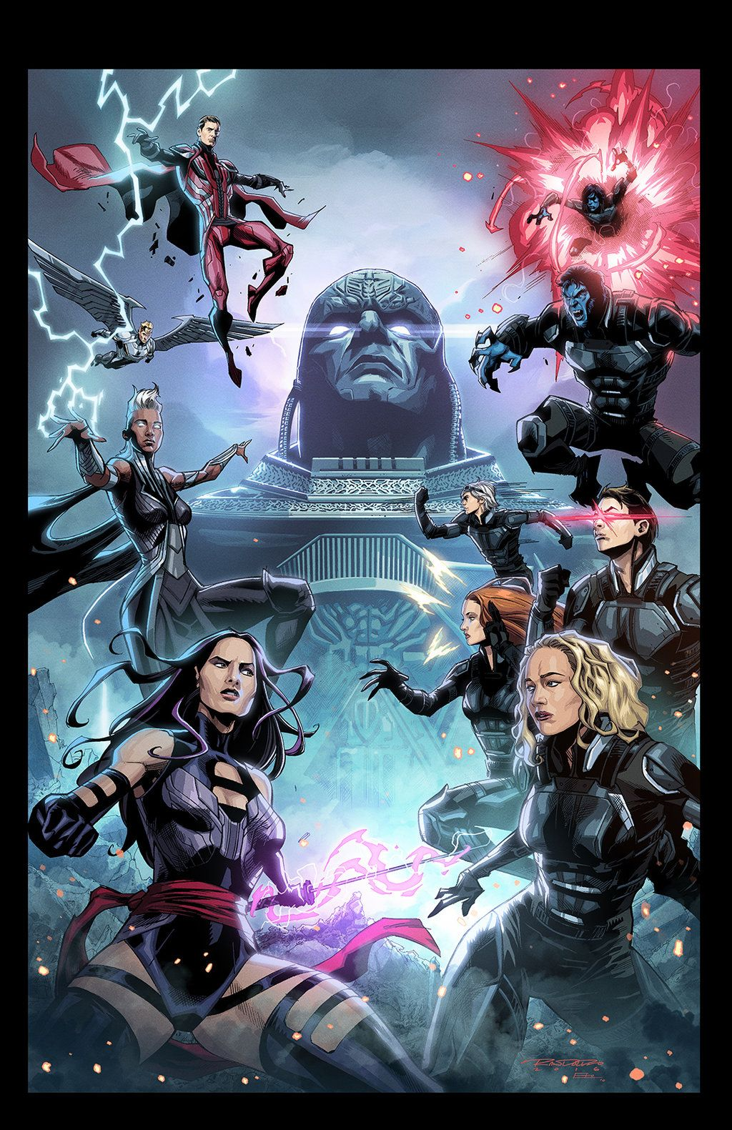 Xmen Apocalypse Vs By E Mann On Deviantart Apocalypse Marvel Xmen Apocalypse Marvel Superheroes