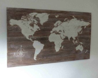Gorgeous intricately carved timber world map wall art made in gorgeous intricately carved timber world map wall art made in australia edit listing etsy gumiabroncs Image collections