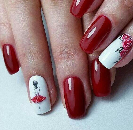 Pretty matte nail ideas design   manicure   Pinterest   Diseños de ...