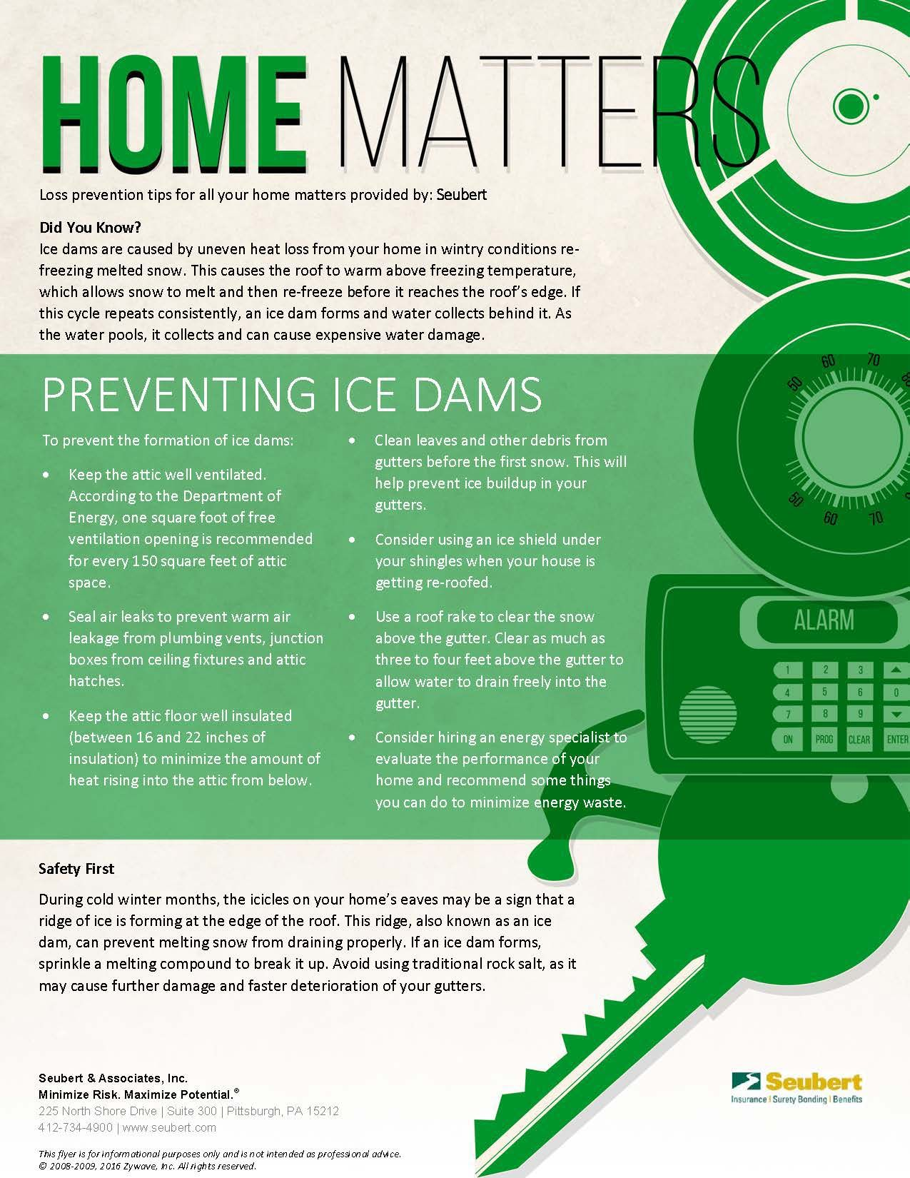 Home Matters: Preventing Ice Dams