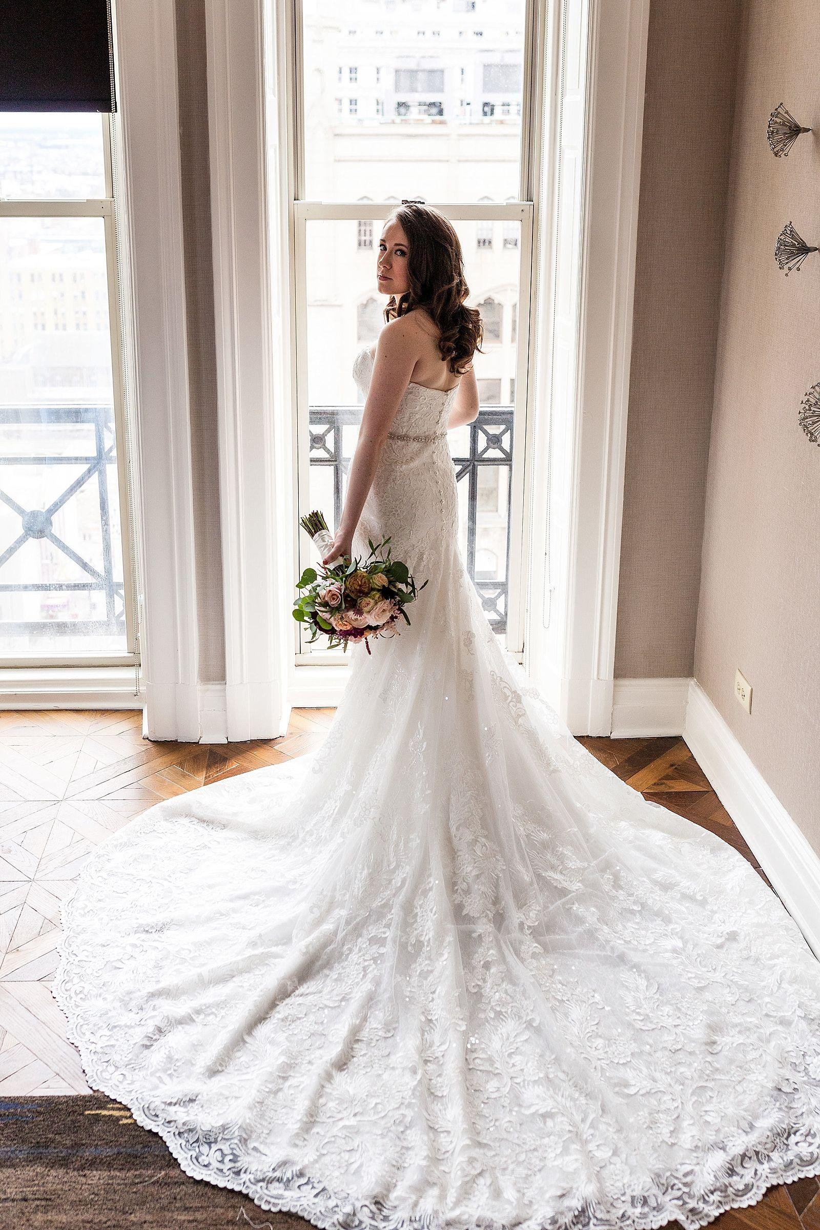 College Of Physicians Wedding Long Train Wedding Dress Wedding