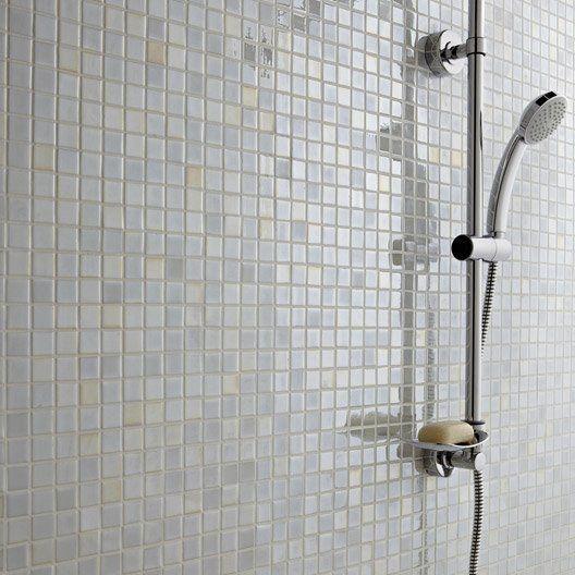 Mosaique Prestige Blanc 2 5x2 5 Cm Douche Mosaique Blanche Carrelage Salle De Bain Salle De Bain