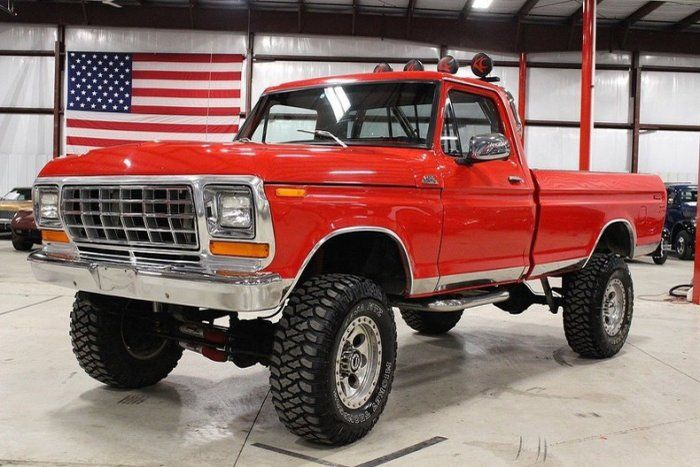 1978 Ford Truck >> 1978 Ford F250 Pickup Truck For Sale 1801209 Classic 1978