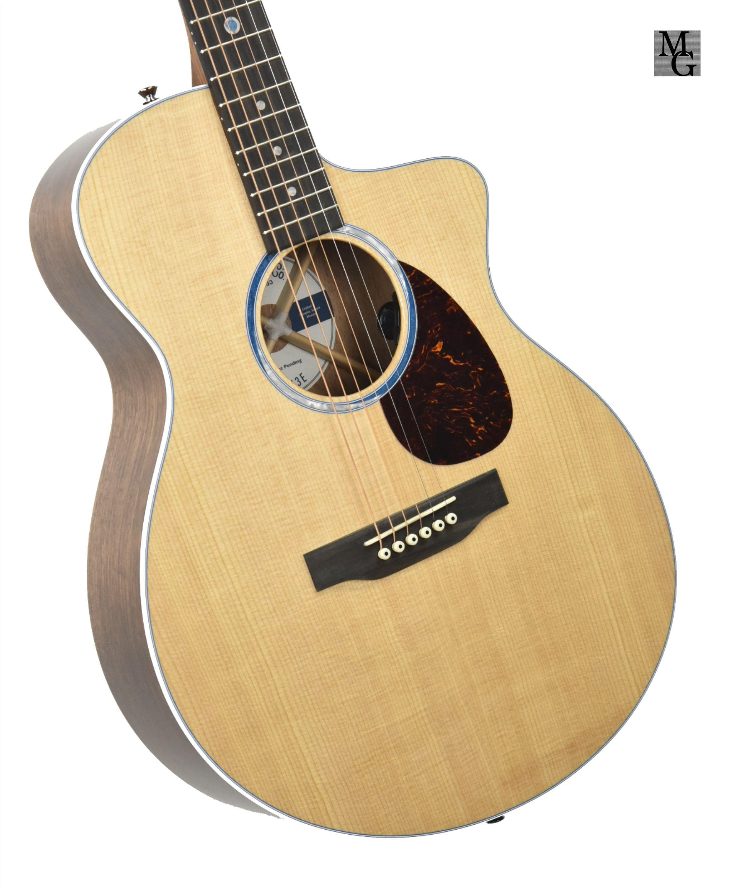 Martin Sc 13e Acoustic Electric Guitar In Natural 2396970 Acoustic Electric Acoustic Electric Guitar Guitar