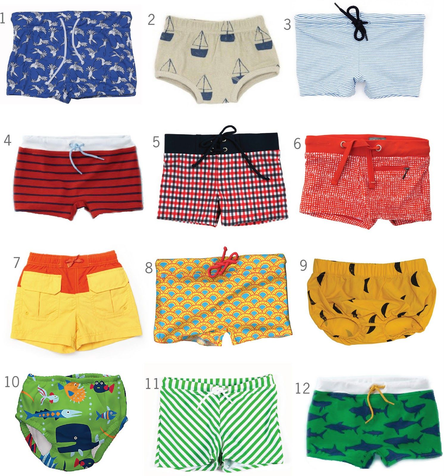 f9dba6141083d Cutest little swim trunks!! | Babies and Kids | Baby boy swimwear ...