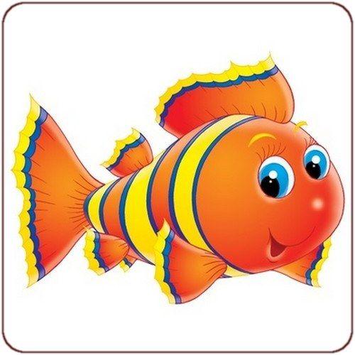 Dessin en couleurs imprimer animaux poisson num ro - Poisson dessin couleur ...