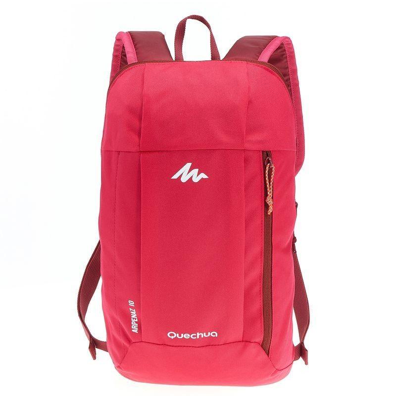 f8c5aa170845e Doğa Yürüyüşü Çantaları Çantalar ve Bavullar - Arpenaz 10 Sırt Çantası -  Pembe QUECHUA - Çantalar ve Bavullar