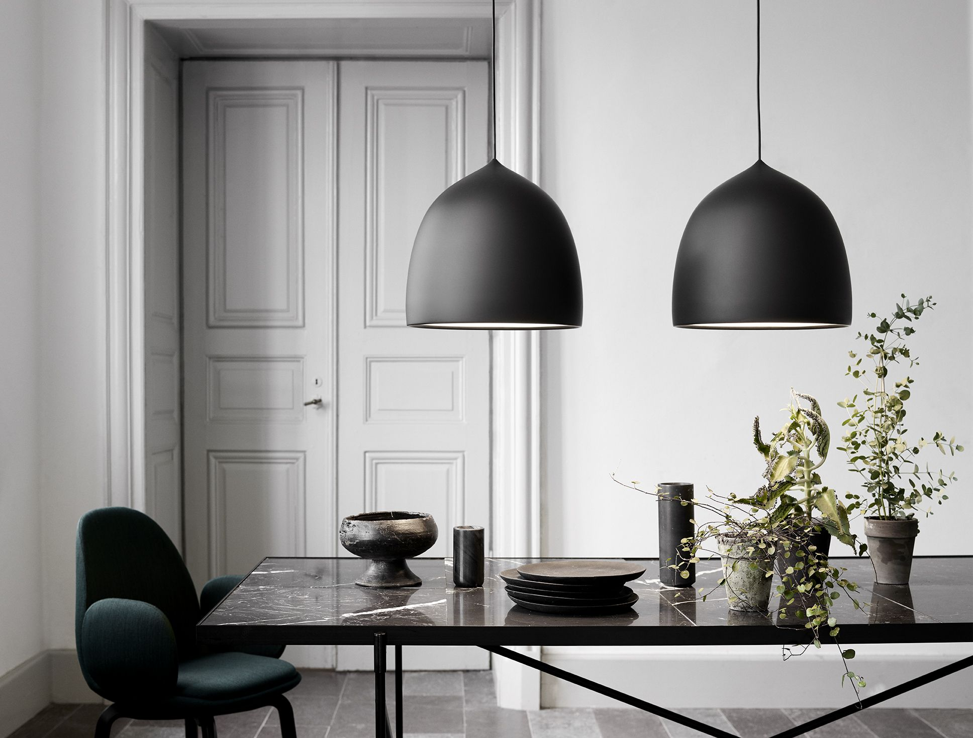 GamFratesi's inspiration for the Suspence™ lamp series has