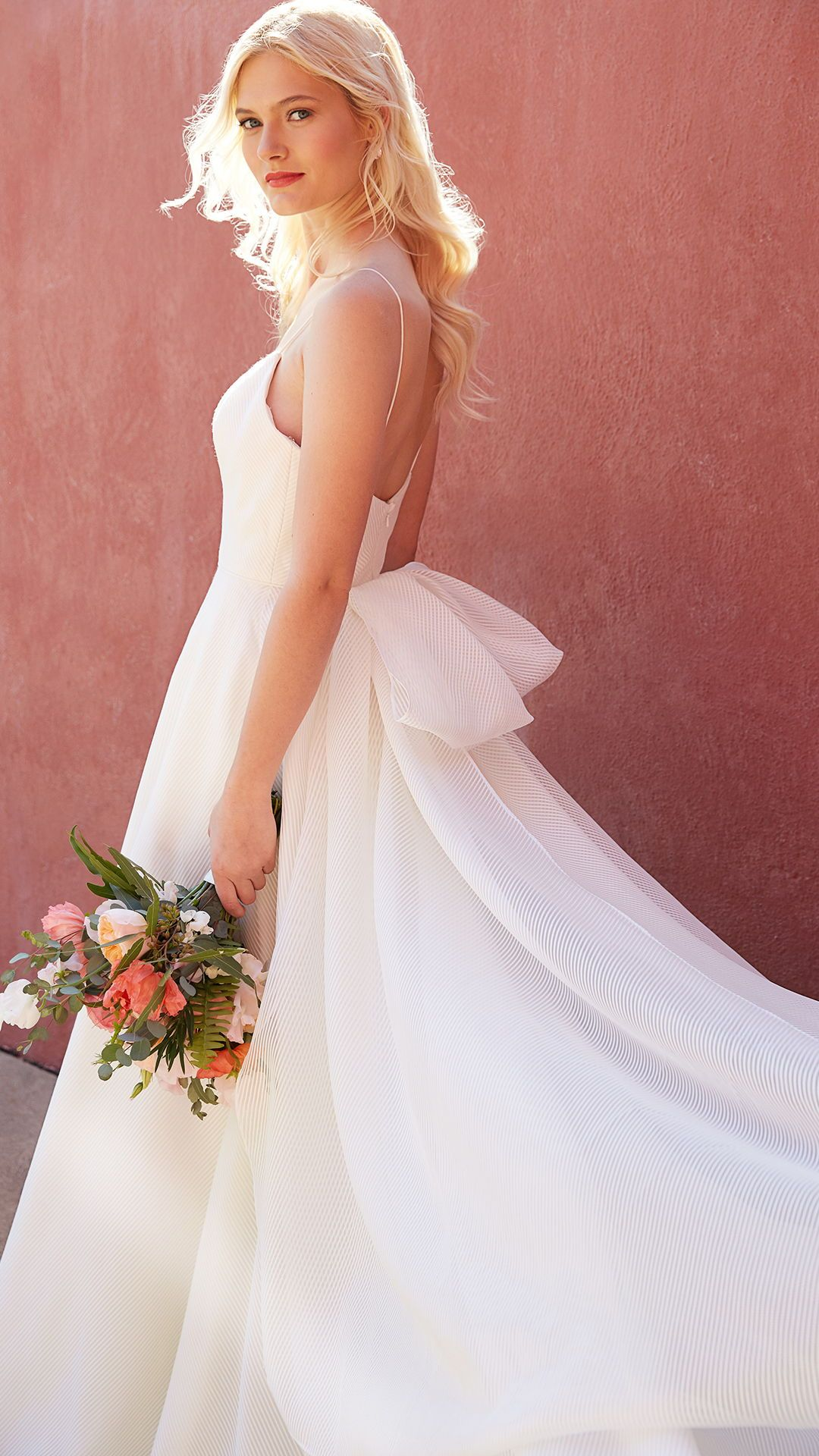 Jenny By Jenny Yoo Bridal The Piper Gown Is A Modern Take On The